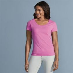 Softstyle™ women's deep scoop t-shirt Thumbnail