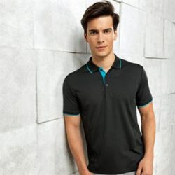 Contrast Coolchecker® polo Thumbnail